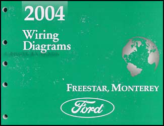 2004 ford freestar \u0026 mercury monterey wiring diagram manual original MPG 2005 Mercury Monterey