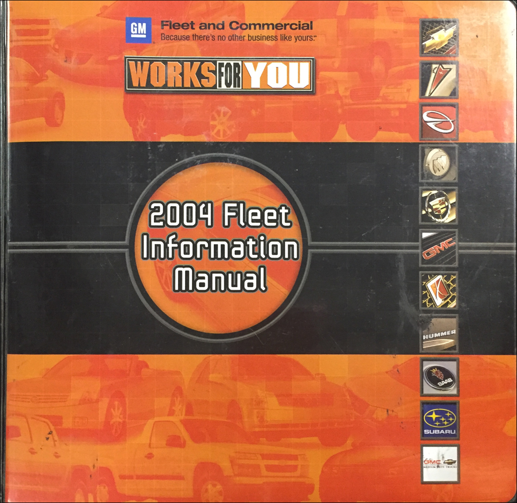 2004 GM Fleet Policies and Procedures Manual Original
