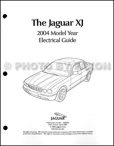 2004 Jaguar XJ8 and XJR Electrical Guide Wiring Diagram