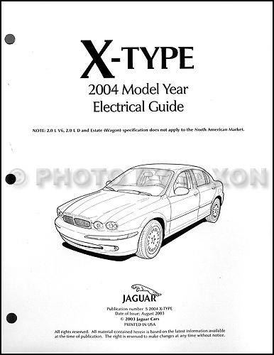 Wiring Diagram Jaguar 2004 X Series - Wiring Diagram Img on