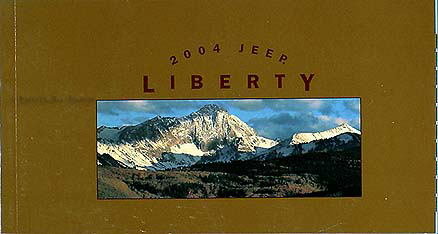 2004 Jeep Liberty Original Owner's Manual