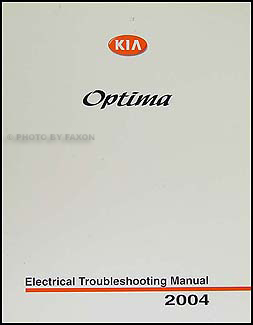 2004 kia optima electrical troubleshooting manual original rh faxonautoliterature com
