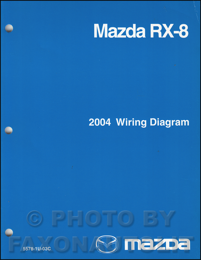 2004 Mazda RX-8 Wiring Diagram Manual Original RX8