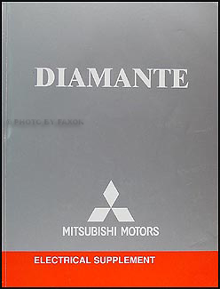 2004 Mitsubishi Diamante Wiring Diagram Electrical Manual Original