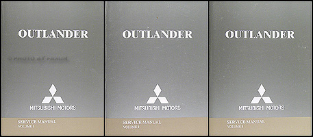 2004 Mitsubishi Outlander Service Manual Original Set