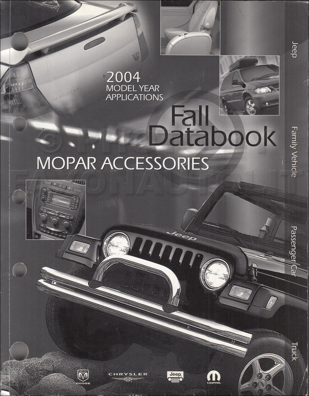 2004 MoPar Accessories Fall Databook Original