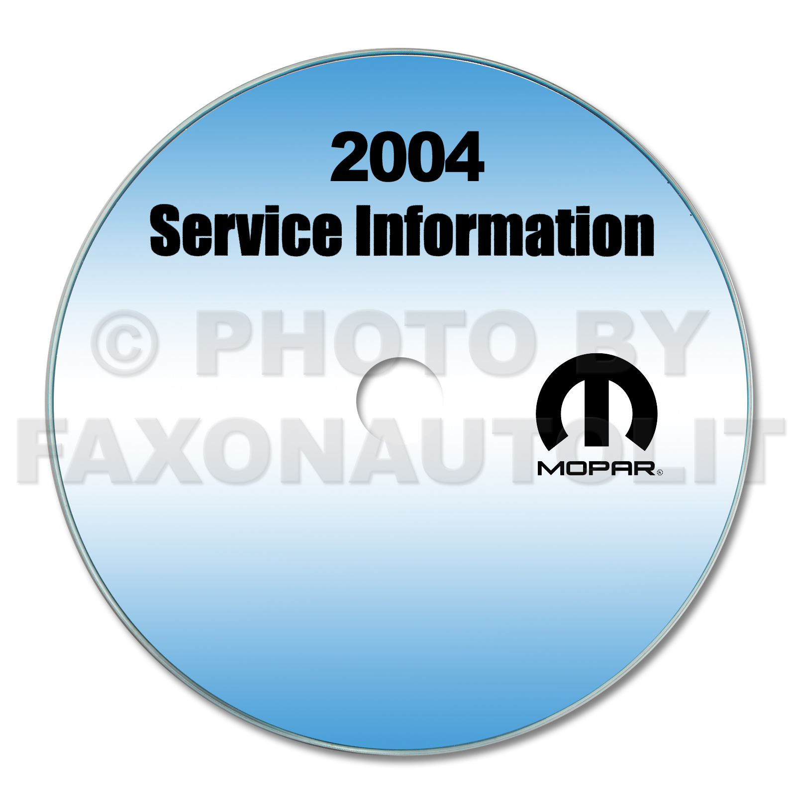2004 Dodge Sprinter Repair Shop Manual CD-ROM
