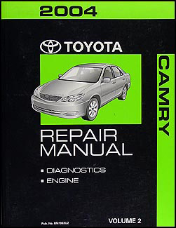 2004 Toyota Camry Repair Manual Volume 2 only Original