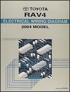[DIAGRAM_38DE]  2004 Toyota RAV4 Wiring Diagram Manual Original | 2004 Rav4 Wiring Diagram |  | Faxon Auto Literature