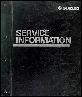 2005 Suzuki Forenza & Reno Repair Manual Original