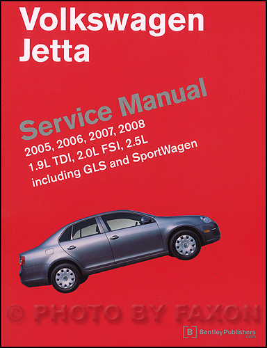 1999-2005 VW Jetta, Golf, GTI Bentley Repair Manual