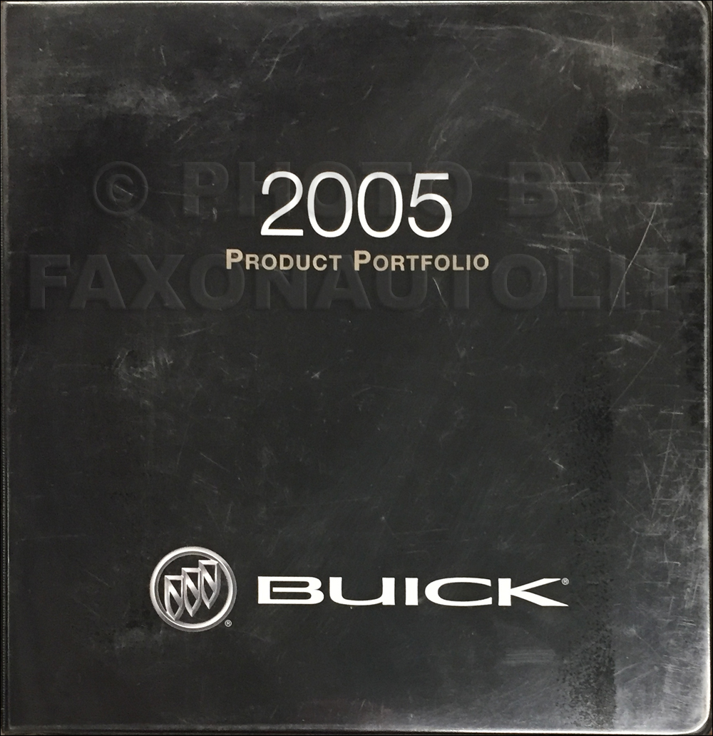 2005 Buick Color & Upholstery Dealer Album/Data Book Original