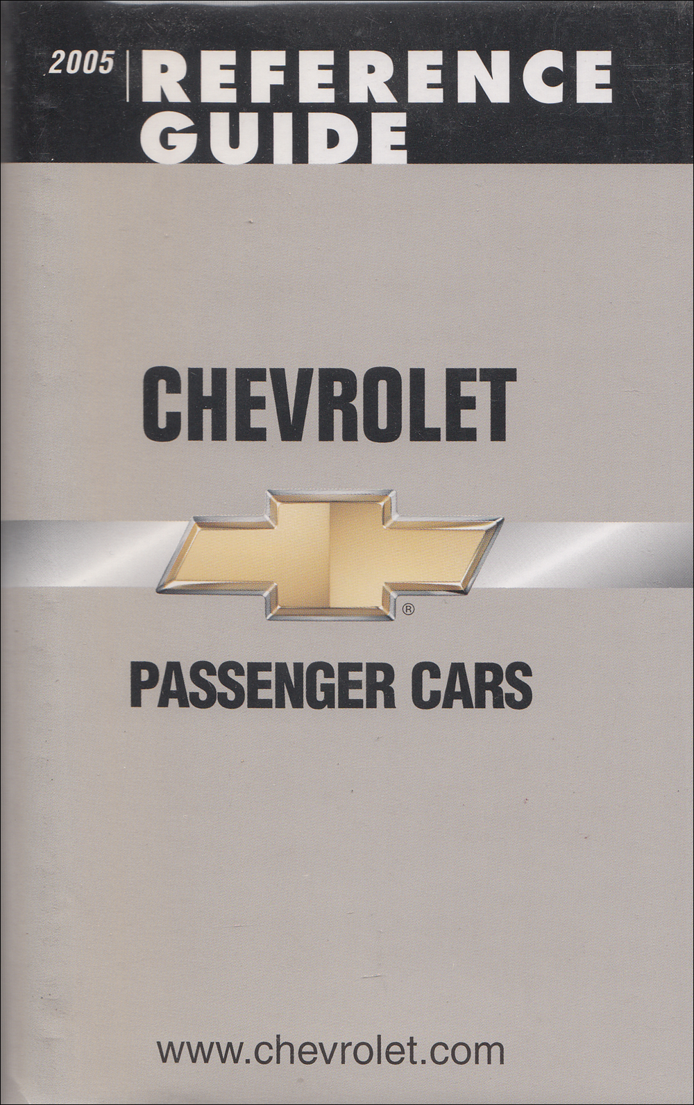 2005 Chevrolet Car Data Book with Color & Upholstery Original