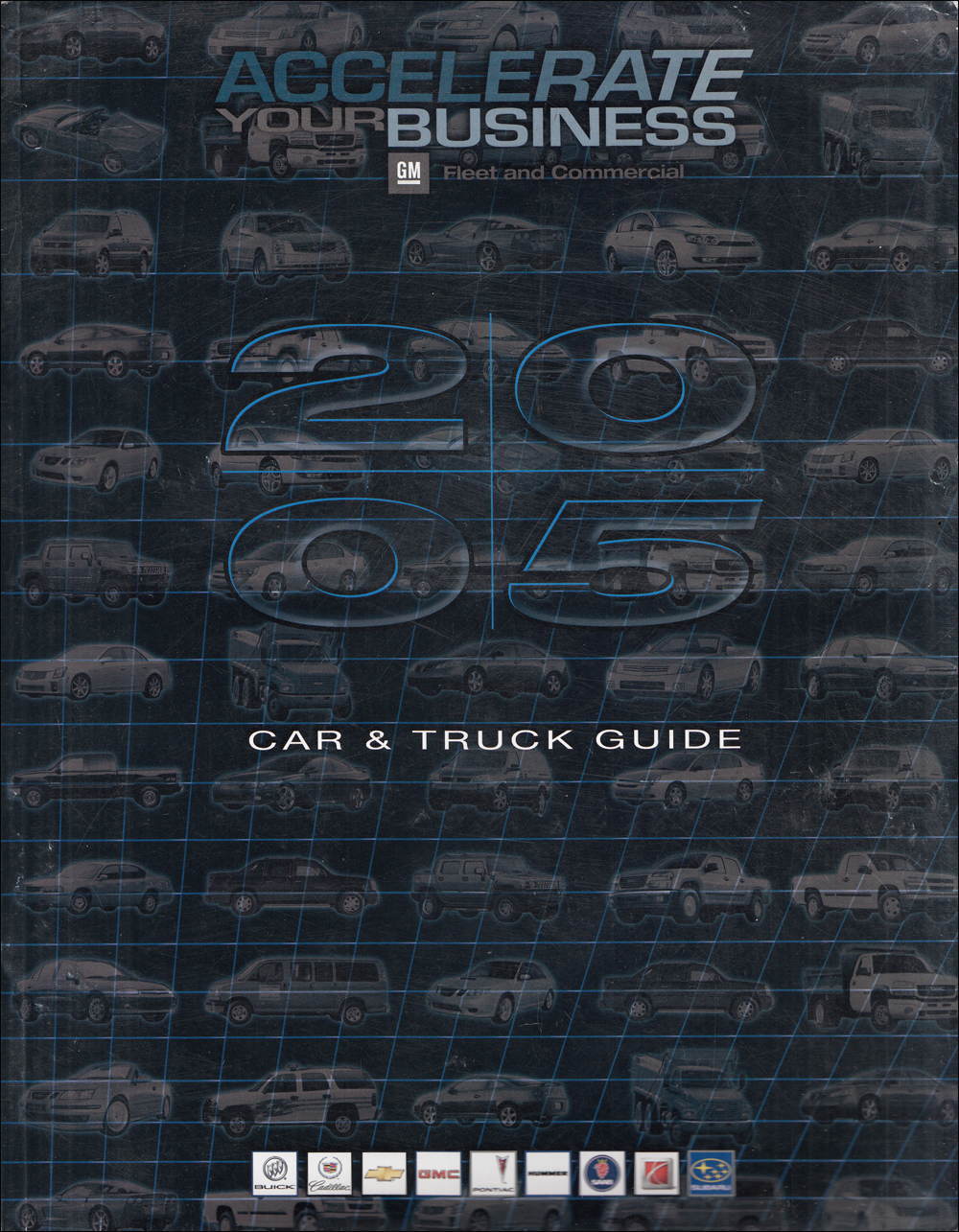 2005 GM Fleet Buyer's Guide Dealer Album Original
