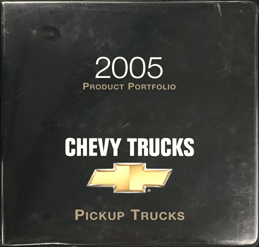 2005 Chevrolet Pickup Trucks Color & Upholstery Dealer Album/Data Book Original