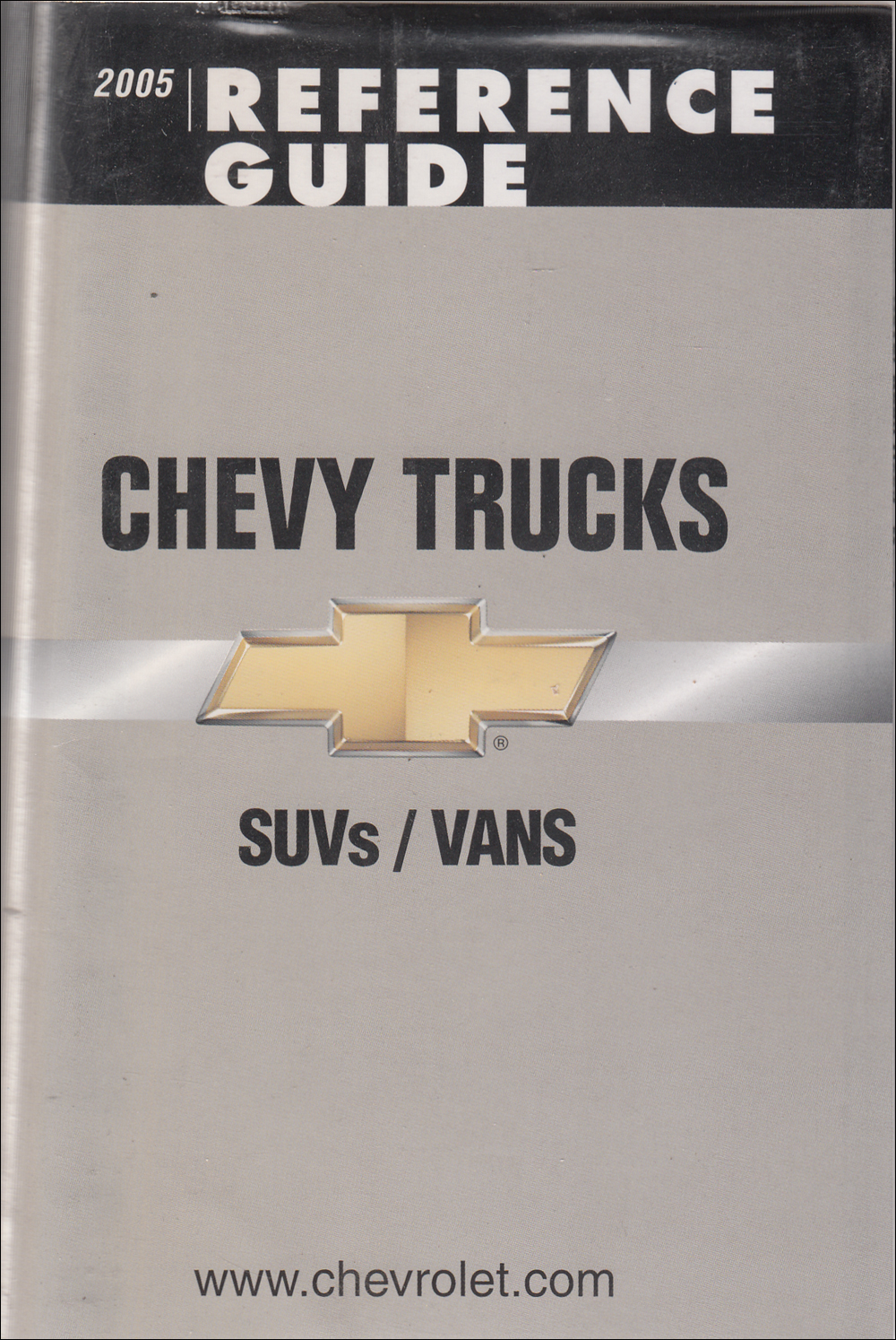 2005 Chevrolet SUV & Vans Data Book with Color & Upholstery Original