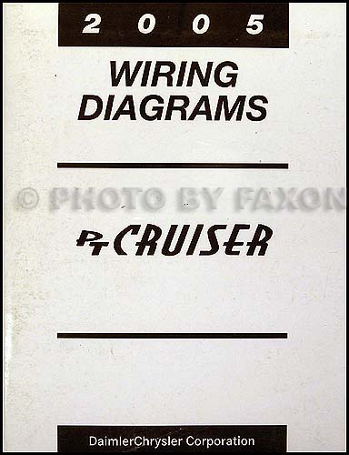 2005 Chrysler PT Cruiser Wiring Diagram Manual Original