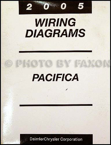 2005 Chrysler Pacifica Wiring Diagram Manual Original