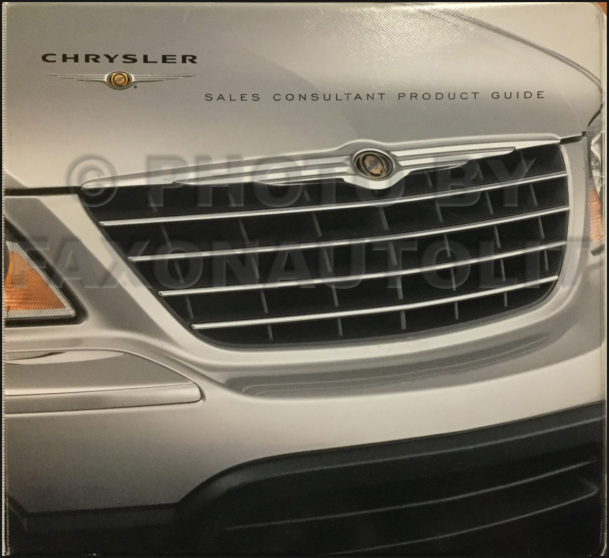 2005 Chrysler Data Book Original