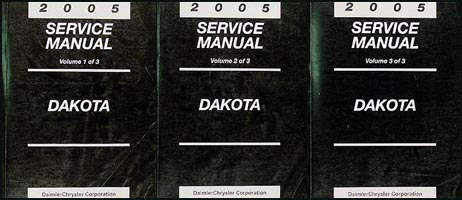 2005 Dodge Dakota Repair Manual Original