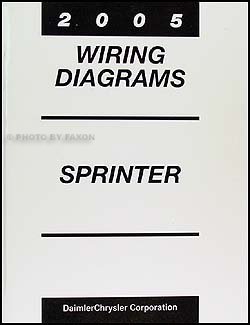 2005 dodge sprinter van wiring diagram manual original 2006 Dodge Caravan SXT