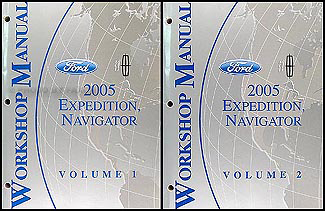 2005 Expedition & Navigator Repair Manual 2 Volume Set Original