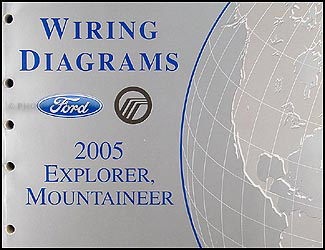 2005 Ford Explorer & Mercury Mountaineer Wiring Diagram Manual