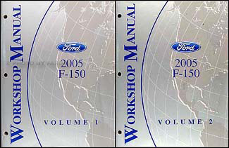 2005 Ford F-150 Repair Manual Original 2 Volume Set