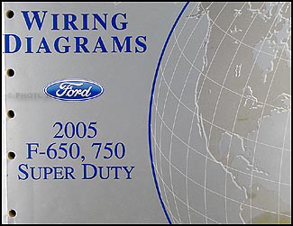 2005 Ford F650-F750 Medium Truck Wiring Diagram Manual Original | Ford F 750 Wiring Diagram |  | Faxon Auto Literature