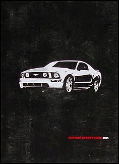 2005 Ford Mustang Owner's Manual Original