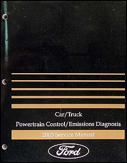 2005 Gas Engine & Emissions Diagnosis Manual FoMoCo Car & Truck