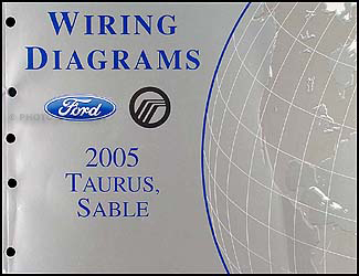 2005 Ford Taurus & Mercury Sable Wiring Diagrams Manual Original