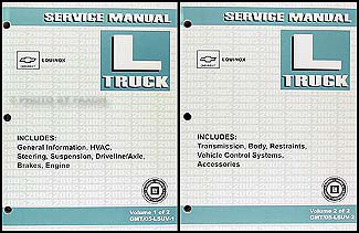 2005 Chevrolet Equinox Repair Manual Original 2 volume set