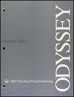2005 Honda Odyssey Electrical Troubleshooting Manual Original