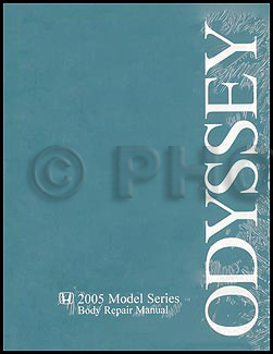 2005-2006 Honda Odyssey Body Repair Manual Original