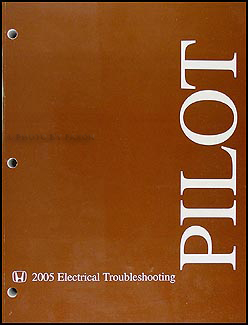 2003-2005 Honda Pilot Electrical Troubleshooting Manual Original