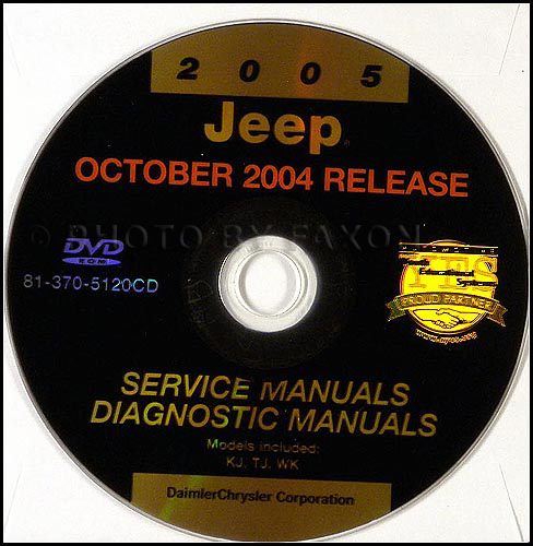 2005 Jeep Shop Manual on CD-ROM