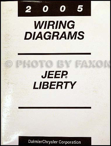 [DIAGRAM_3US]  2005 Jeep Liberty Wiring Diagram Manual Original | 2006 Jeep Liberty Wiring Diagram |  | Faxon Auto Literature
