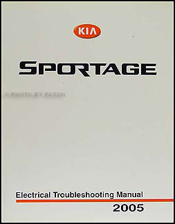2005 Kia Sportage Electrical Troubleshooting Manual Original