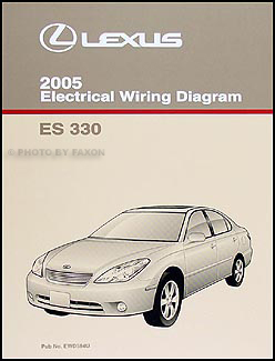 2005 Lexus ES 330 Wiring Diagram Manual Original