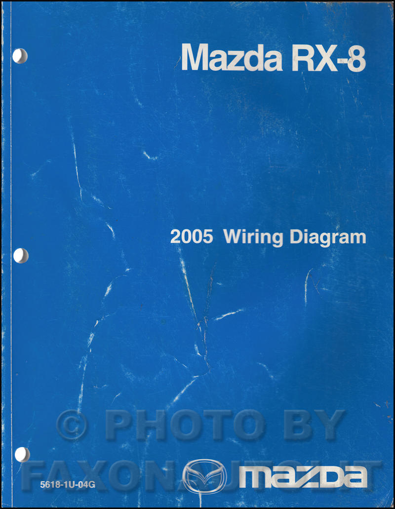 2005 Mazda RX-8 Wiring Diagram Manual Original RX8