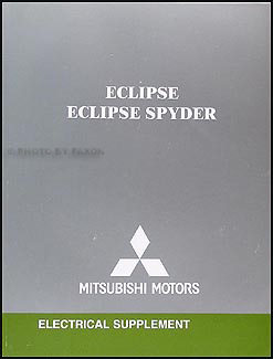 2005 Mitsubishi Eclipse & Spyder Wiring Diagram Manual Original