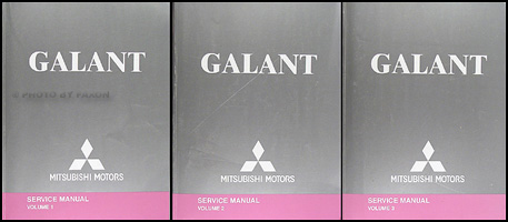 2005 Mitsubishi Galant Repair Manual Set Original