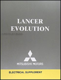 2005 Mitsubishi Lancer Evolution Wiring Diagram Manual Original