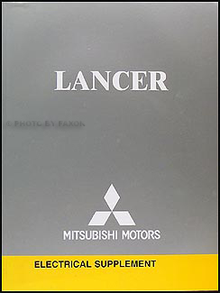 2005 Mitsubishi Lancer Wiring Diagram Manual Original