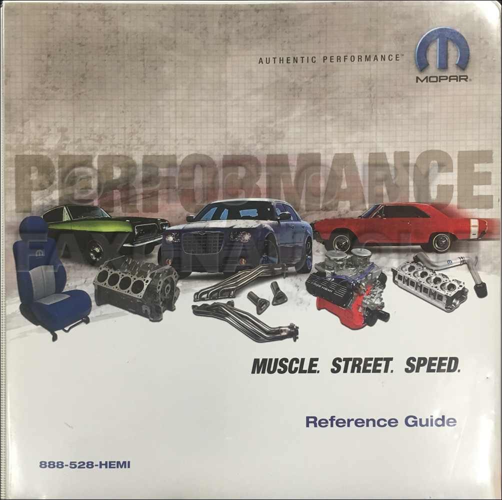 2005 Mopar Performance Reference Guide Original