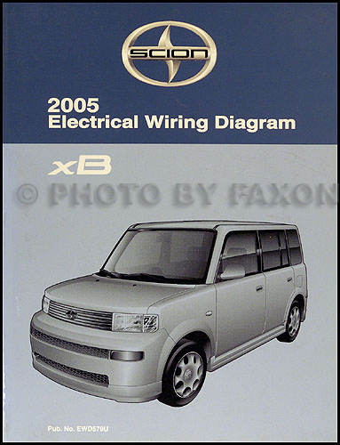 2005 scion xb wiring diagram manual original rh faxonautoliterature com 2008 scion xb wiring diagram scion xb stereo wiring diagram