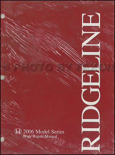 2006-2014 Honda Ridgeline Body Manual Original