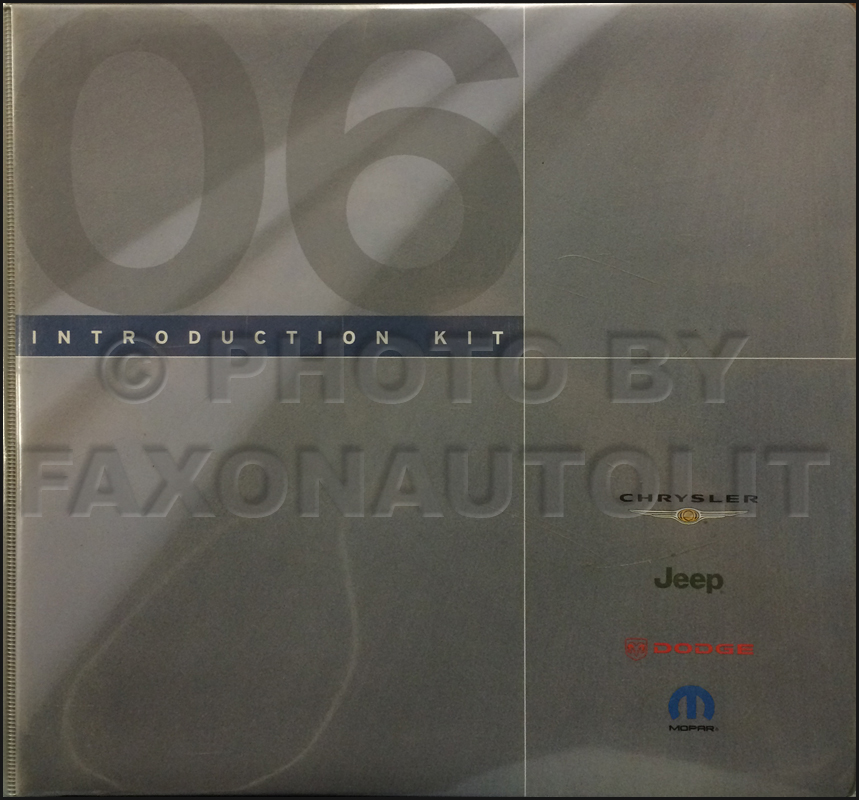 2006 Mopar Dealer Advertising Planner Original