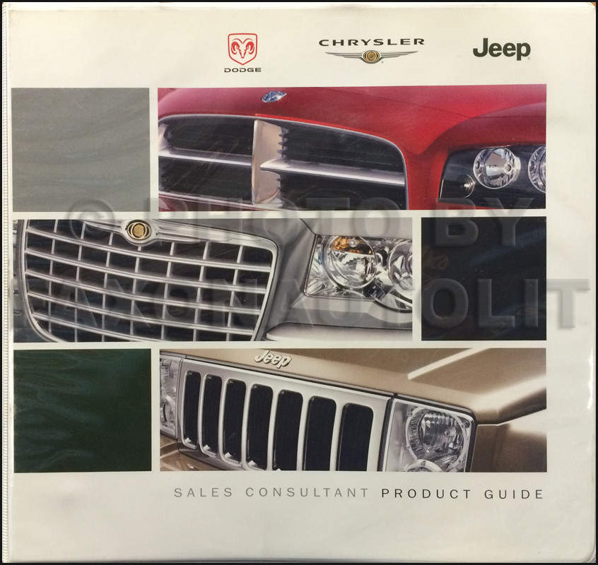 2006 Dodge Chrysler Jeep Data Book Original